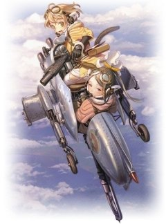 Last Exile: Ginyoku no Fam / Изгнанник [ТВ-2] (21 из 21) + Special (2 из 2)  Complete